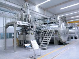 Вакуумные смесительные и дозировочные установки Hübers