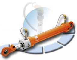 Гидравлические цилиндры с датчиком приближения